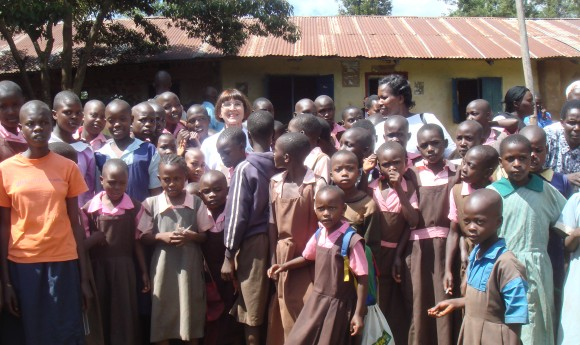 HEIR volunteers visit to Nyankororo junior school